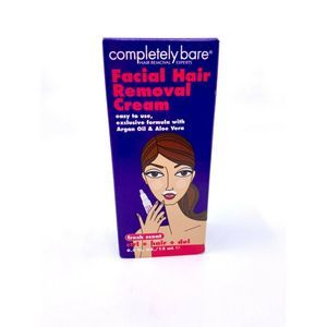 COMPLETELY BARE FACIAL HAIR REMOVAL CREAM